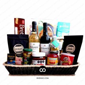 Canastas Gourmet-Canastas Navideñas La Europea